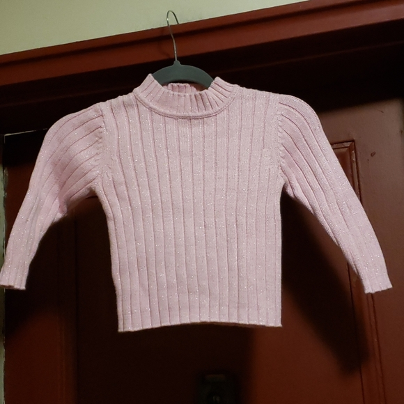 COVINGTON LONG SLEEVE PINK SWEATER SIZE 4T